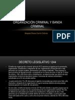 Organizacion criminal