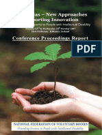 Conference Proceedings Report