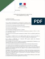 20190718_Arrêté Préfectoral Réglementant Les Usages de l'Eau Dans Le Département de La Corrèze