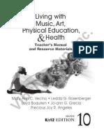 Living With MusicArtP.E. Health 10