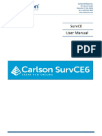 SurvCE 6.0 User Manual