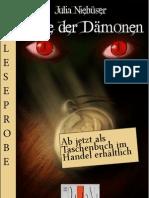 Leseprobe Julia Niehüser - Erbe der Dämonen