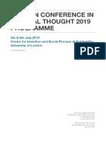 LCCT 2019 Long Programme 14.6.19