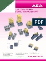CATÁLOGO Reles Electromecánicos AEA