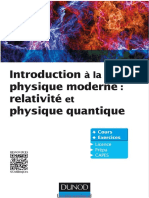 Introduction à La Physique Moderne _ Relativité Et Physique Quantique _ Cours Et Exercices