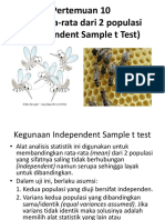 Minggu 10 (Uji dua rata-rata _Independent sample t test) (3).ppt