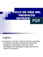 Marketing Estrategias Ciclo de Vida