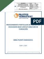 Procedimiento Part. de Pilotes Pre-exc. Lodo 1500-1200