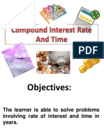 Compound Interest Rate and Time