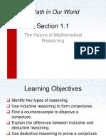 1.1 Mathematical Reasoning
