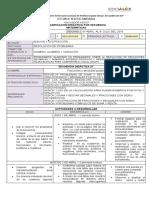 Matematicas Planificacion Didáctica Por Secuencia 1