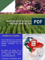 Tecnologia de Produccion de Quinua