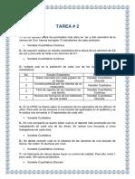 Tarea De Variables (Métodos Estadísticos)