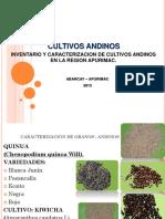Presentacion de Cultivos Andinos