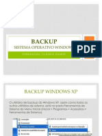 Backup- Sistema Operativo