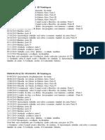 Programação Filosofia III Modelagem