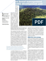 Collaborative Forest Management in a SDU