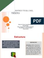 La Estructura Del TEXTO-Glo