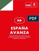 Base Programa PSOE