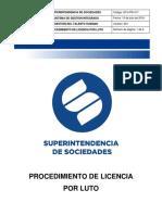 GTH-PR-017 Licencia Por Luto