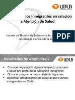 Derechos de Inmigrantes en Salud en Chile Ten 106