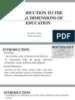 c1 Social Dimension