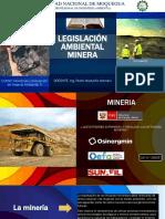 Legislación Ambiental Minera - Exposicion