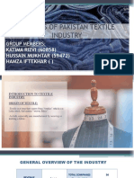 analysis of Pakistan Textile Sector