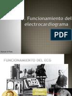 3. Funcionamiento Del Electrocardiograma