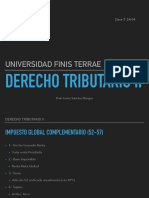 DERECHO TRIBUTARIO FINNIS