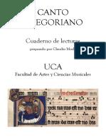 Cuaderno Gregoriano UCA 2016 (1)