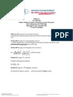ACI 350.3-06 ERRATA Seismic Design of Liquid-Containing Concrete Structures and Commentary
