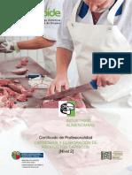 Carniceria y elaboracion de productos carnicos
