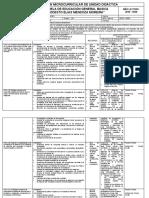 Planificación Microcurricular de Unidad Didactica 9no