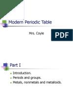 2 Modern Periodic Table