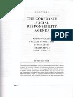 The Corporate Social Responsibility Agenda
