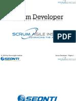 Scrum Master y Developer Capitulo 1 Al Capitulo 12