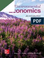 Environmental Economics - Field & Field