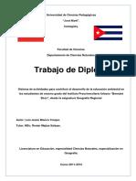 Tesis Educación Ambiental Luis Blanco 2012