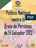 Politica de Trata de Personas Salvador