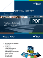 Starting Your NEC Journey