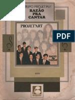 Razão Pra Cantar(Grupo Projet'Art)