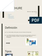 Brochure educativo