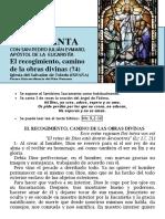 El Recogimiento camino de las obras divinas (74) HORA SANTA Con San Pedro Julián Eymard. El Recogimiento (74)