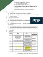 Esquema Exposiciones Turbinas Hidraulicas SVJ UNT 2018-II