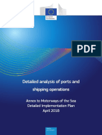 Detailed Analysis of Ports and Shipping Operations