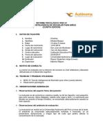 Informe psicológico - WISC
