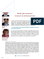 Rapport de l'observatoire de l'éthique publique