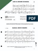 004-005 Alleluia al Signore che regna - Alleluia, Cristo è risorto