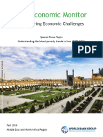 Iran Economic Monitor Weathering Economic Challenges